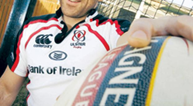 Kieron Dawson is delighted to have signed a new contract with Ulster