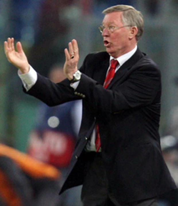 Sir Alex Ferguson has defended his players against accusations of show-boating