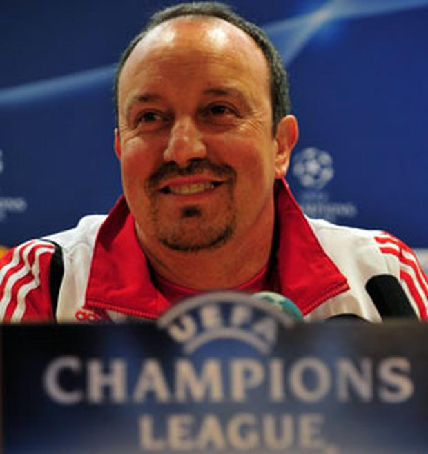 Back on the attack: Rafa Benitez