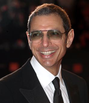 Jeff Goldblum starred in the hit movies Jurassic Park and Independence Day