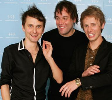 Muse: Devon three-piece will play Marlay Park in Dublin on August 13