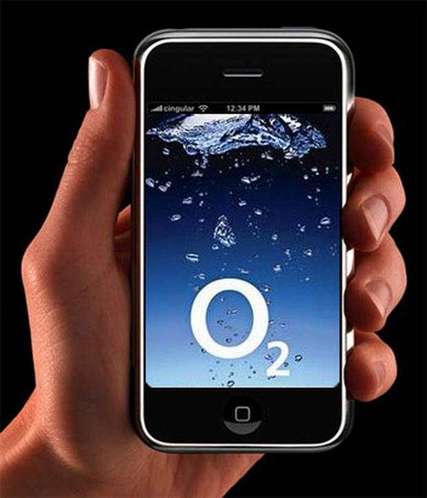 The iPhone is only available in the UK on the O2 network