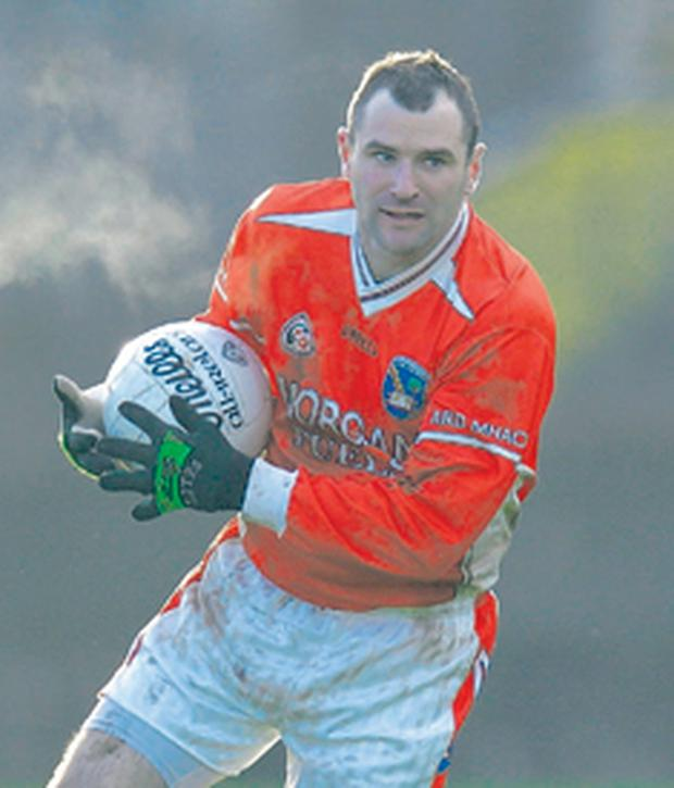 Armagh's Steven McDonnell is hoping to build on last week's performance against Dublin