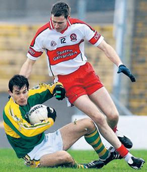 Enda Muldoon will be one of the key men for Paddy Crozier and Derry in the NFL decider