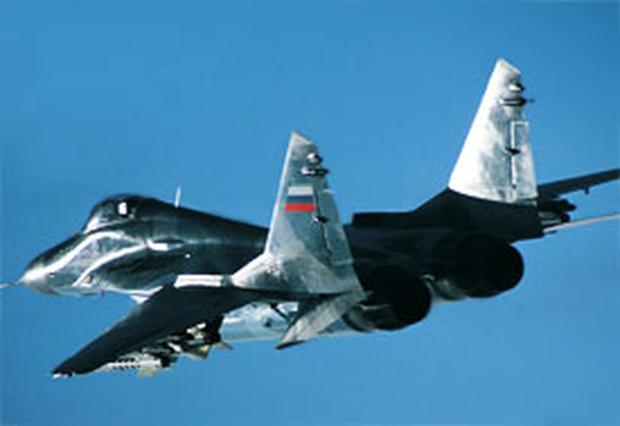 Georgia claims a Russian Mig-29, similar to the one shown above, shot down their drone