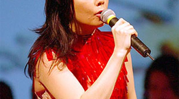 The lady in red, Bjork