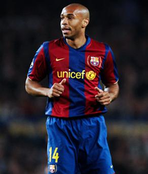 Thierry Henry is confident Barcelona can get a result against Manchester United tomorrow night