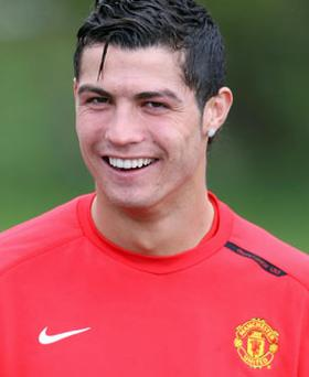 Cristiano Ronaldo (above) will be vital to Sir Alex Ferguson against Barcelona