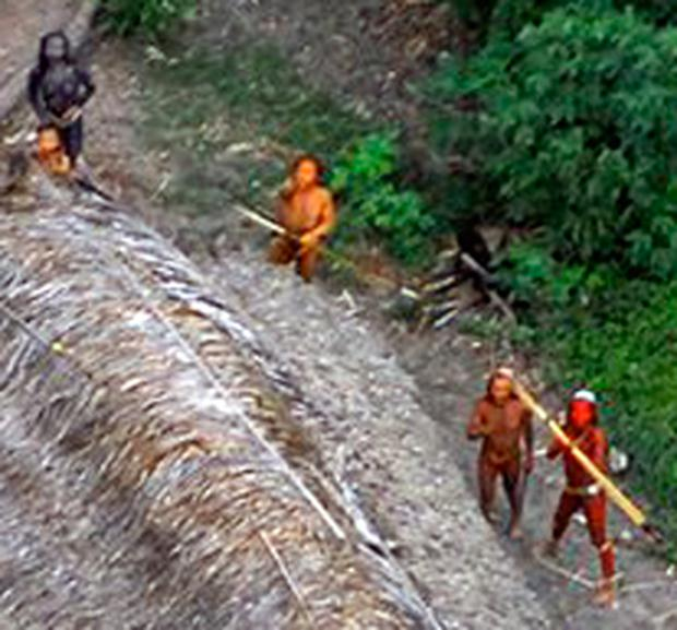 The world was gripped by the sight of a previously uncontacted tribe in the Brazilian rainforest three years ago.