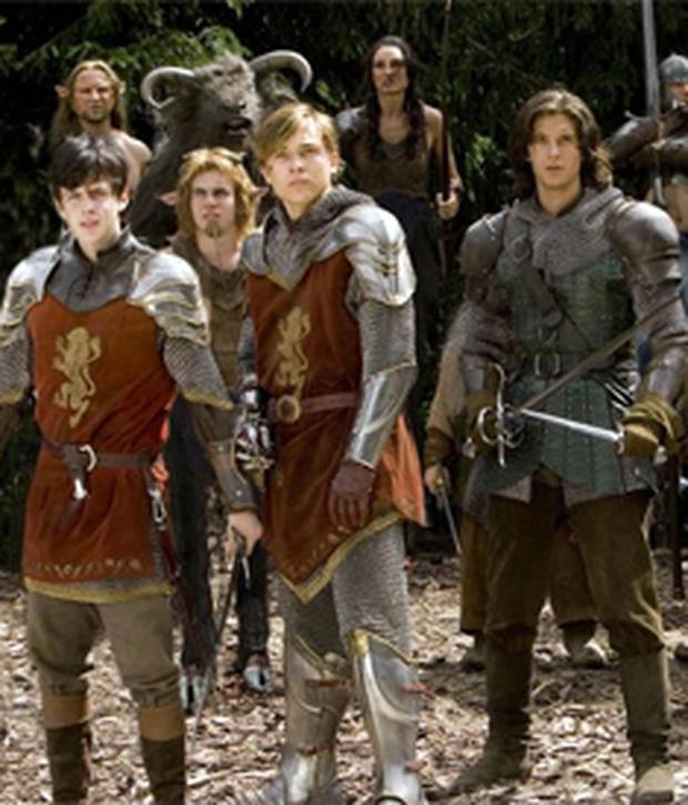 A scene from Prince Caspian, based on the work of CS Lewis
