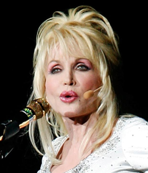 Dolly Parton at the Odyssey in Belfast