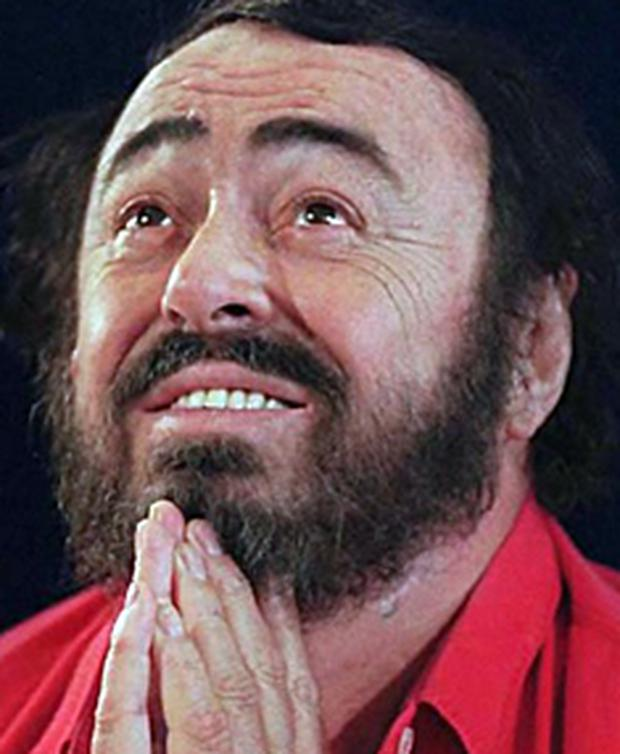 Pavarotti was diagnosed with cancer last year