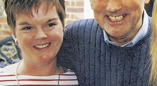 Barbara with her beloved brother: she believes the family has a genetic disposition towards alcoholism