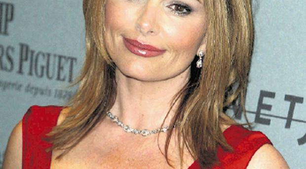 Lady In Red: Roma Downey