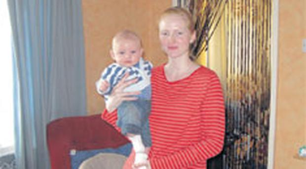 A lack of three bedroom Housing Executive homes in Bangor is forcing Talitha Proctor and her son Jack to live separately from partner and father Gary McMullan