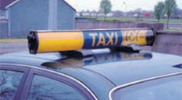 The alleged robbery attempt took place during a taxi ride in Co Down in March 2011.