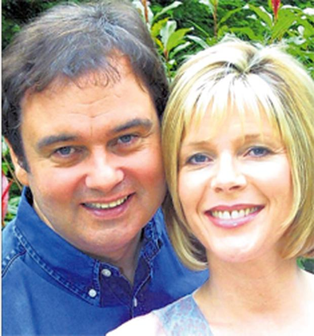 Eamon Holmes with his partner Ruth Langsford