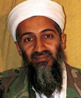 Photograph apparently showing Osama bin Laden