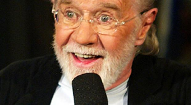 Comedian George Carlin on Jay Leno
