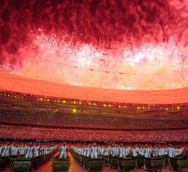 Did the spectacular opening ceremony of the Olympics blind the West to the human rights abuses in China?