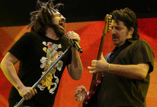 US rockers The Counting Crows who will play Belfast in December.