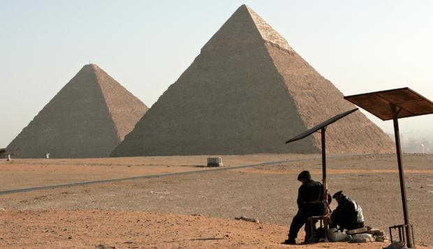 The strong euro is drawing holidaymakers to Turkey and Egypt's Giza pyramids.