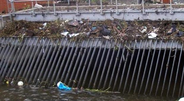 The gates at the Glenmachan Pass culvert are a cause for concern.