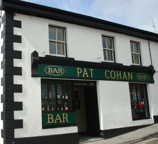 Cohan's bar ahs been painstakingly recreated in Cong, Co Mayo, using stills from the classic 1952 movie.