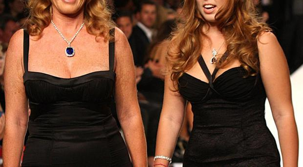 Princess Beatrice has been described as 'pear-shaped' but has merely inherited a similar shape to her mother, Fergie.