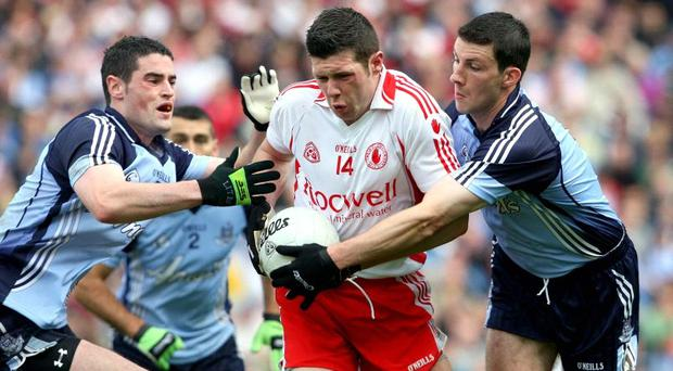 Sean Cavanagh has been a target for AFL scouts in the past but getting Tyrone into the All Ireland final against with Kerry or Cork is his only focus right now