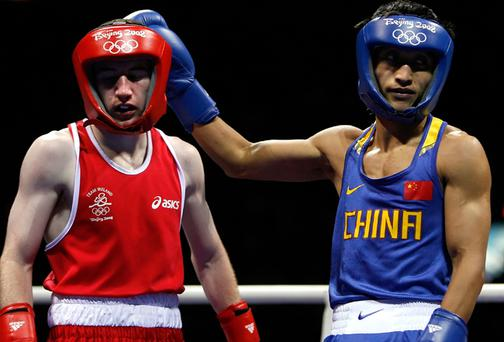 Paddy Barnes was not awarded a single point in his semi-final bout against China's Zou Shiming
