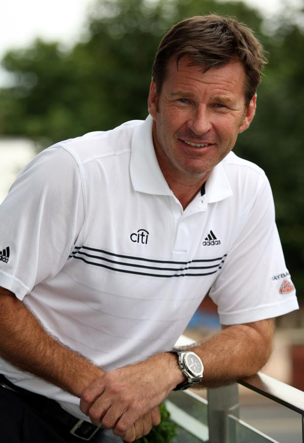 Nick Faldo has been criticised for leaving Darren Clarke out of Europe's Ryder Cup team