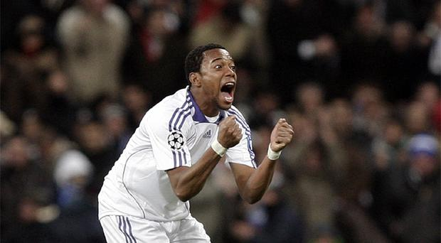 Robinho had difficulty settling at Real Madrid