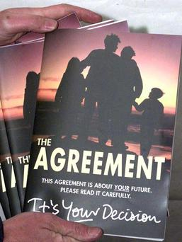 The original Good Friday Agreement of 1998