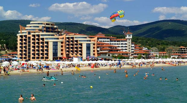 NORTHERN Ireland people buying a holiday home in Donegal are being offered a free apartment in Bulgaria in an amazing 'buy one get one free' deal.