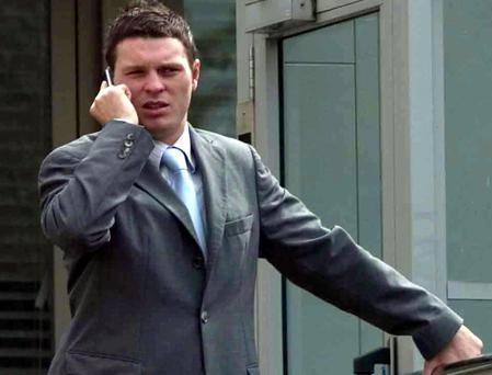 Kevin Braniff outside the court yesterday