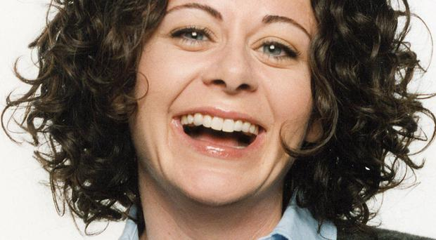Hollywood actress Geraldine Hughes is originally from Divis flats in Belfast.