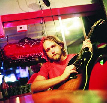 Hayes Carll makes an appearance at the Real Music Club at Belfast's Errigle Inn tomorrow night