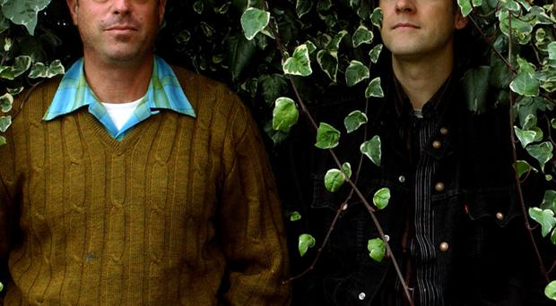 John and Joey of Calexico.