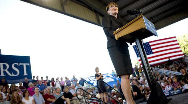 Republican vice-presidential candidate Sarah Palin 'excites' Carson City voters at the weekend