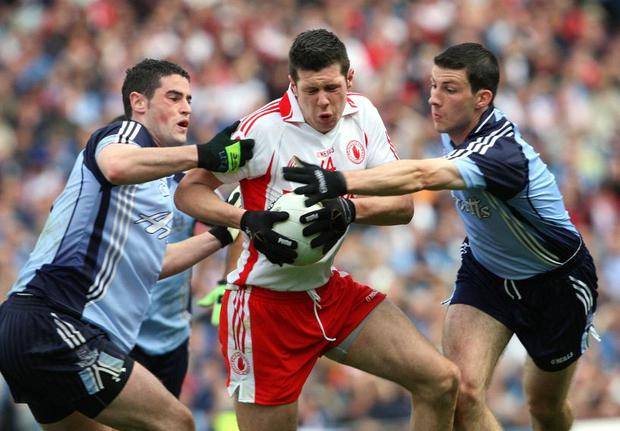 Sean Kavanagh will be a key figure for Tyrone against Kerry