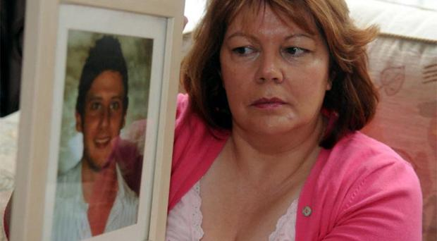 Aaron's aunt, Patricia Logue, is urging people to sign an online petition to help discover the cause of the plane crash which killer her nephew