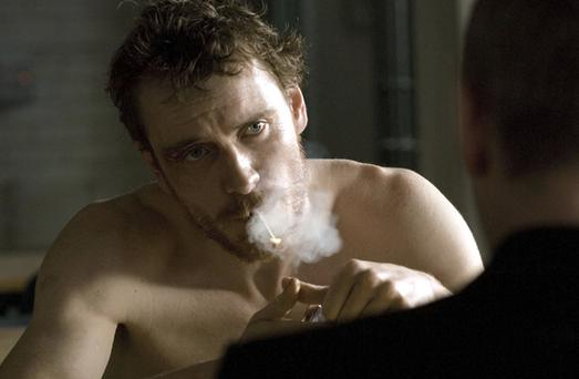 Michael Fassbender stars in Hunger, the film about the last six weeks in the life of Bobby Sands