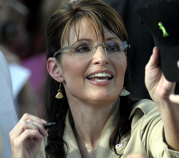 Sarah Palin on the campaign trail