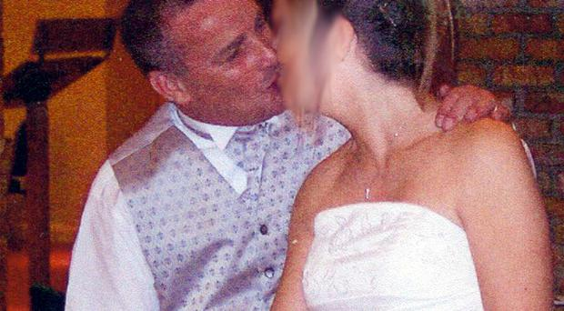 Fraudster John Thomas Cope and his duped bride Shirley