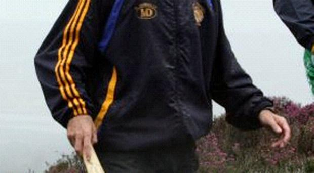 Bernard Dunne hopes he won't need a hurling stick to beat his next opponent
