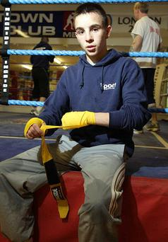 Michael Conlan is hoping to make an impact at the Commonweath Youth Games in India