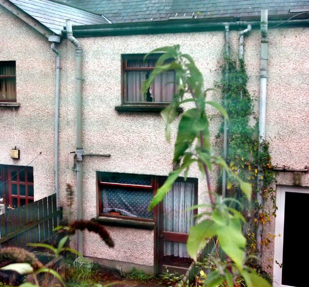 The home where Eileen Corrigan (62) was found dead