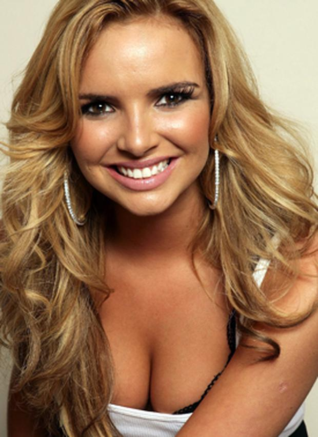 Nadine Coyle from Girls Aloud