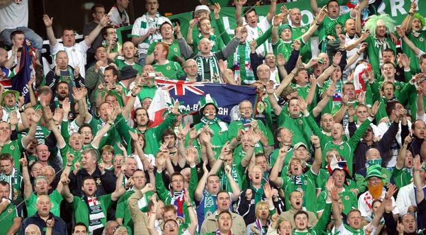 Kyle Lafferty has praised Northern Ireland's fans